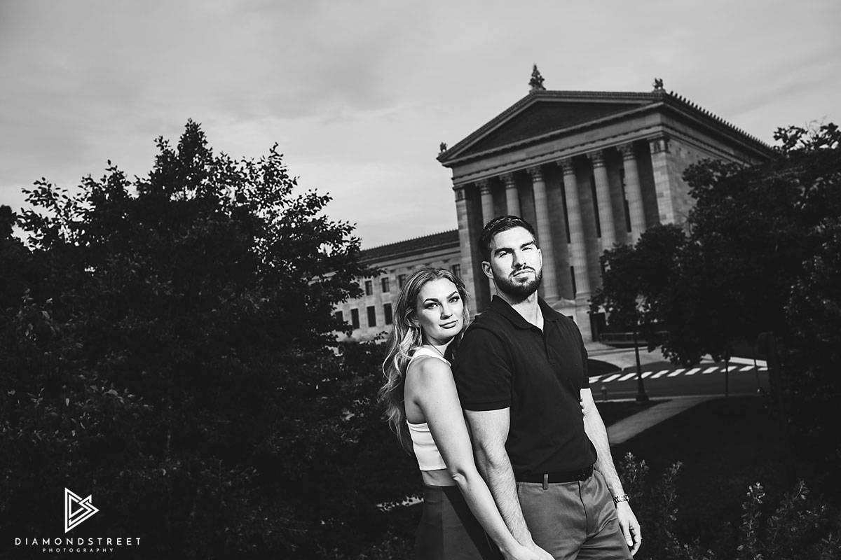 Philadelphia Waterworks engagement photos