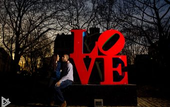 University of Penn engagement photos