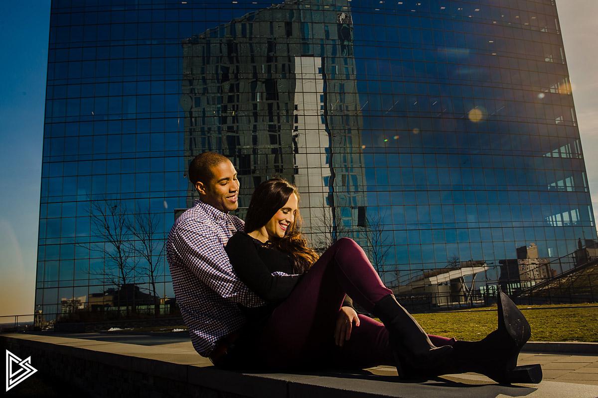 University of Penn engagement photos