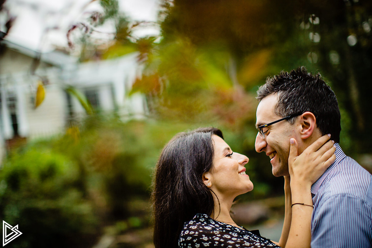 Sayen Gardens Engagement photos