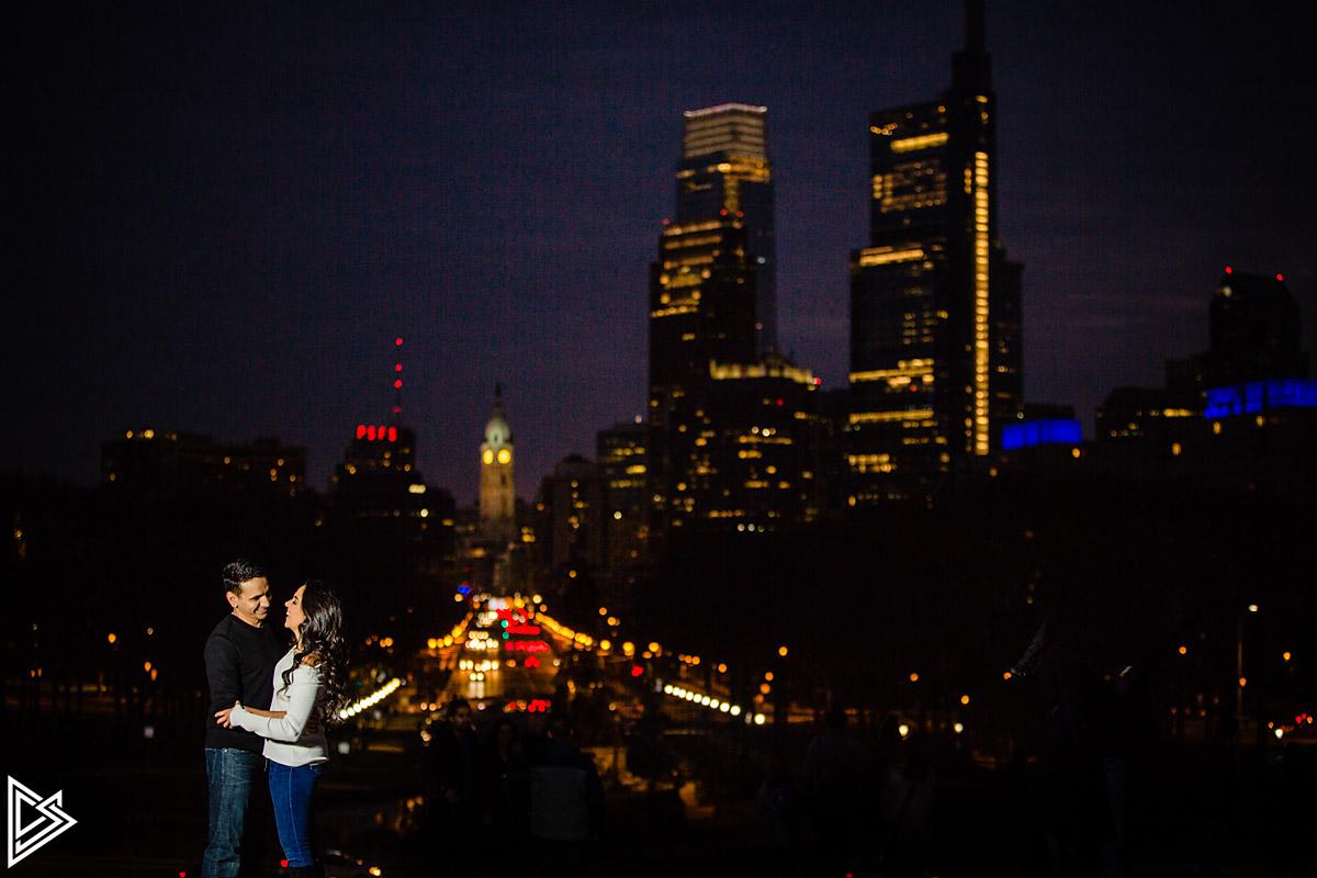 Philadelphia City Engagement photos