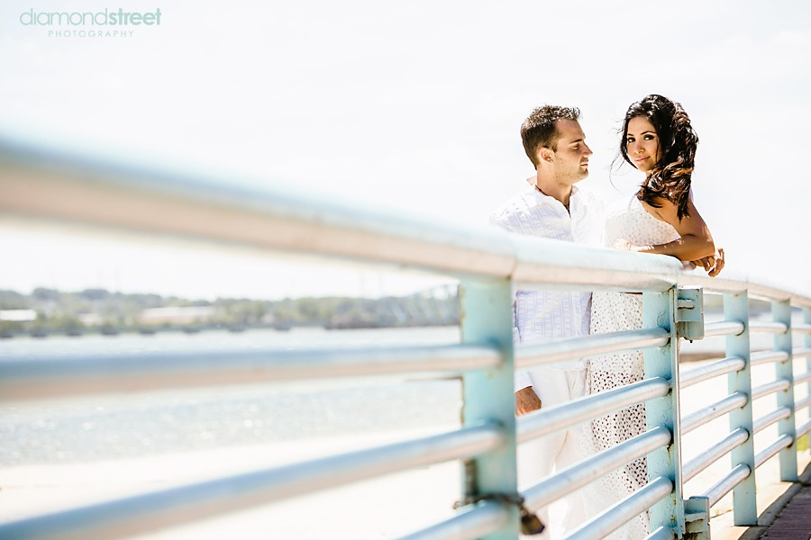 Perth Amboy Beach engagement session