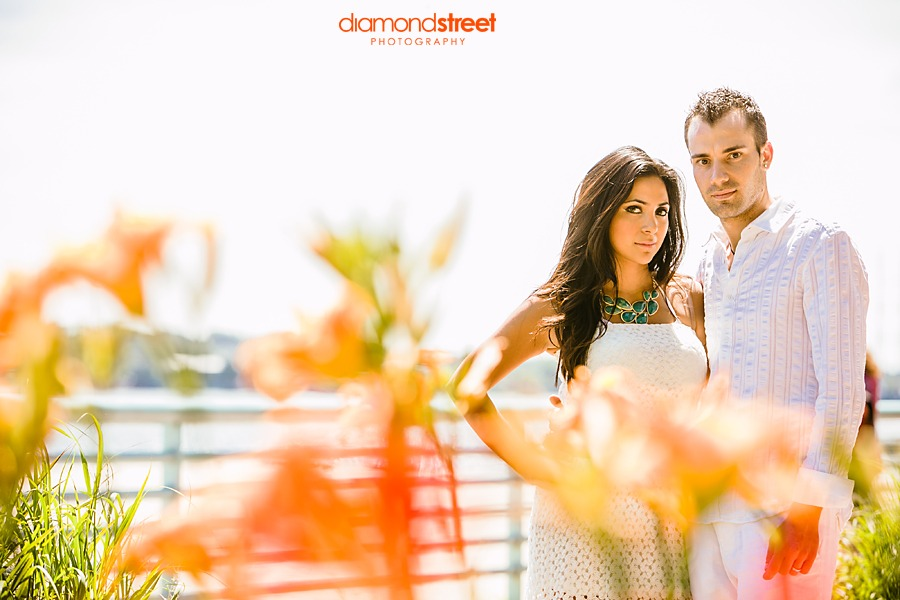 Perth Amboy Beach engagement photos