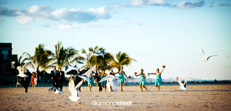 point pleasant beach wedding photos