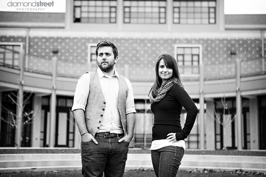 College of New Jersey engagement photos