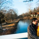 Washington Crossing Park engagement photos