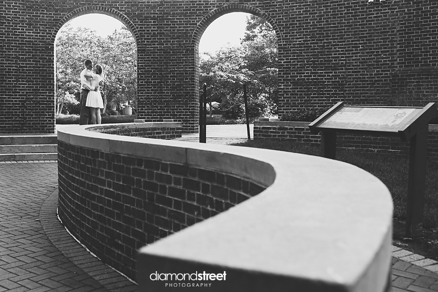 University of Delaware engagement photos