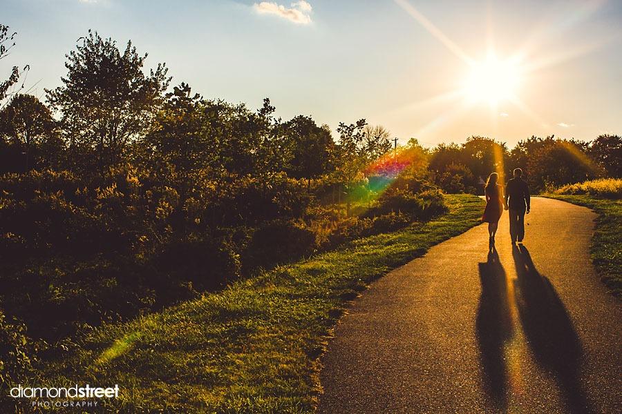 Norristown farm park engagement