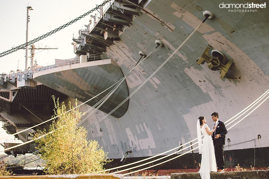 Philadelphia Navy Yard Wedding