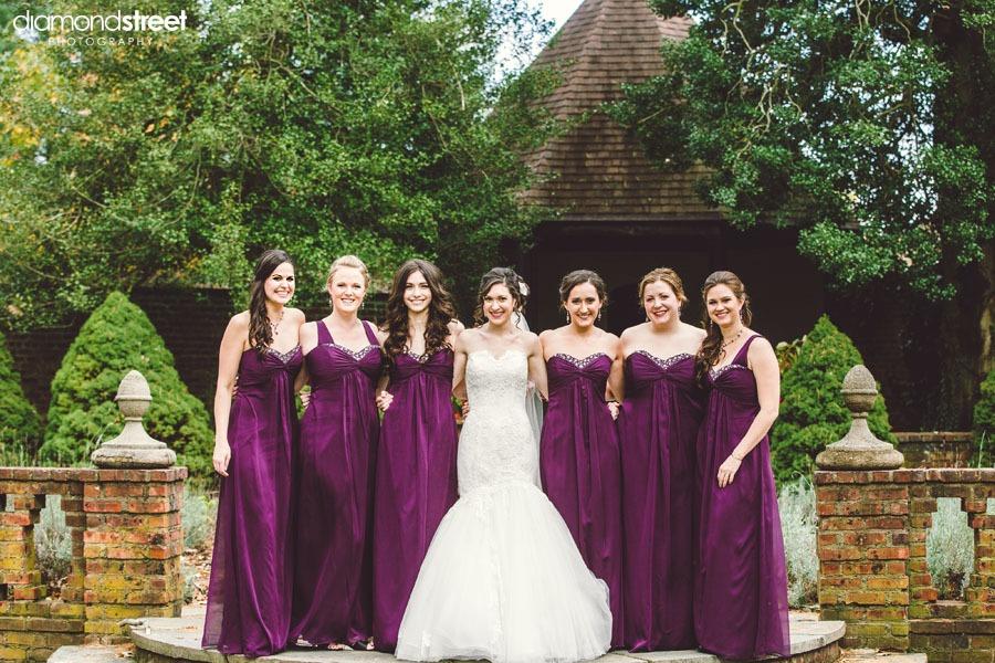 Aldie Mansion bridesmaids