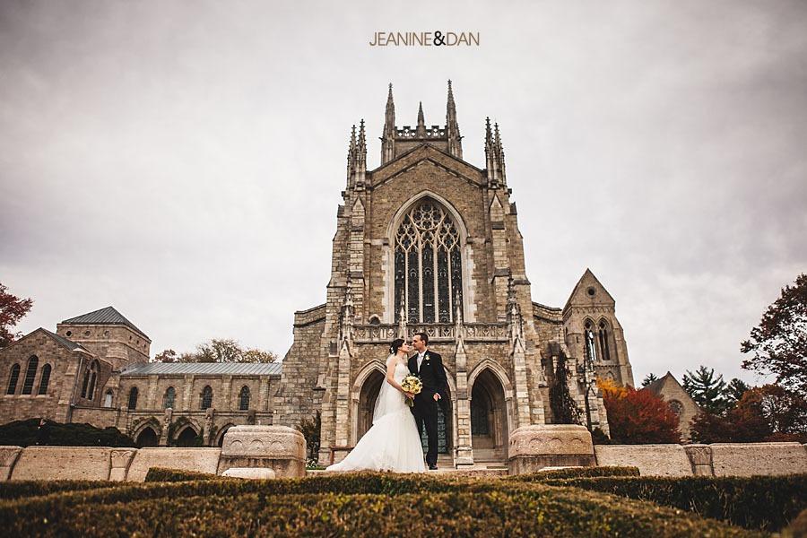 Bryn Athyn Cathedral wedding photos