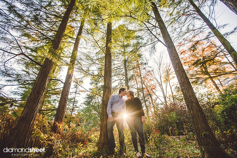 Longwood Gardens Engagement Photographers
