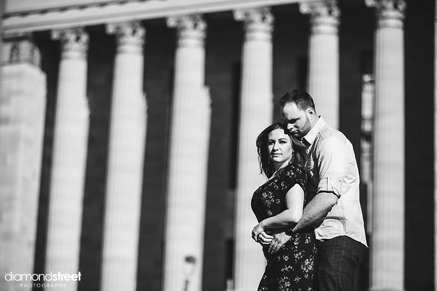 A Waterworks and art Museum engagement