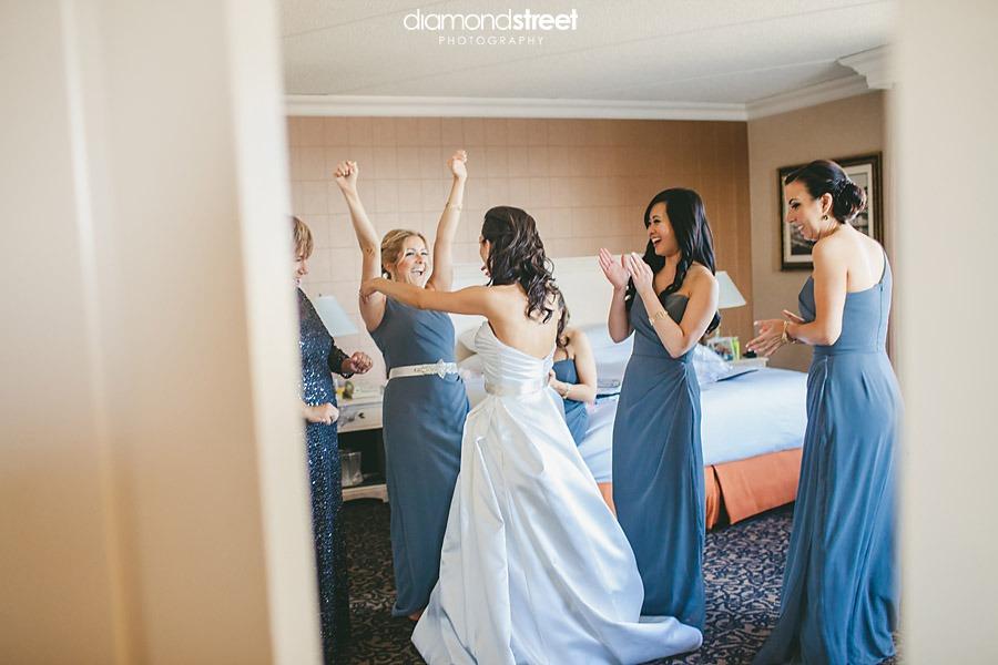 City Ave Hilton Wedding