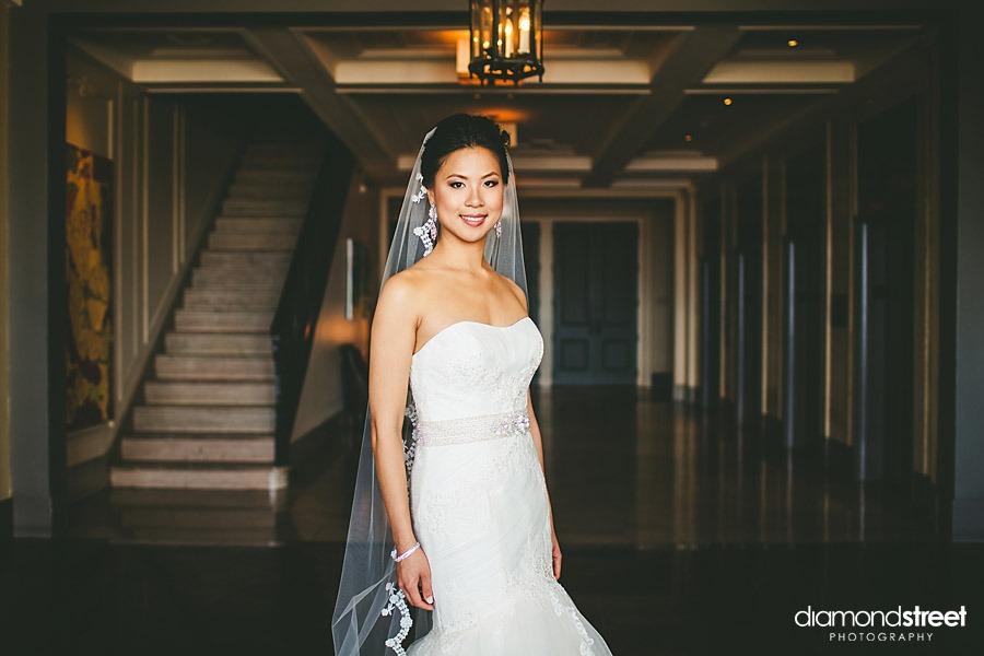 Hyatt at the Bellevue bride