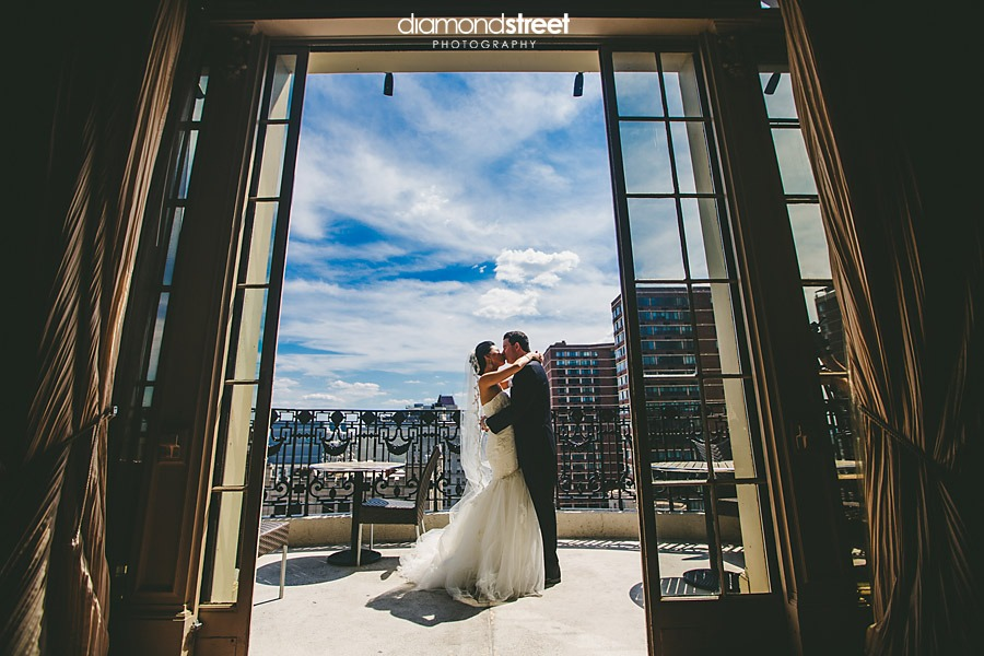 Hyatt at the Bellevue wedding images