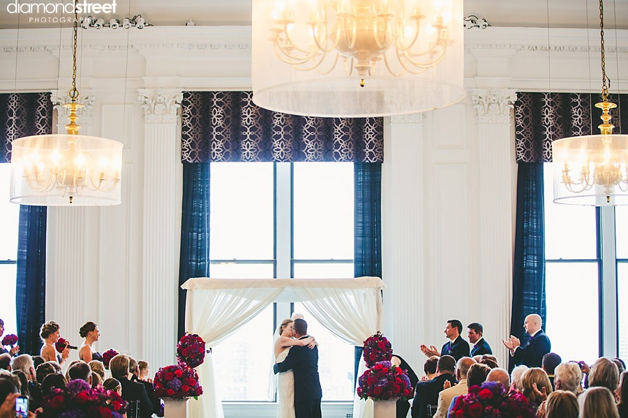 Downtown Club Wedding pictures