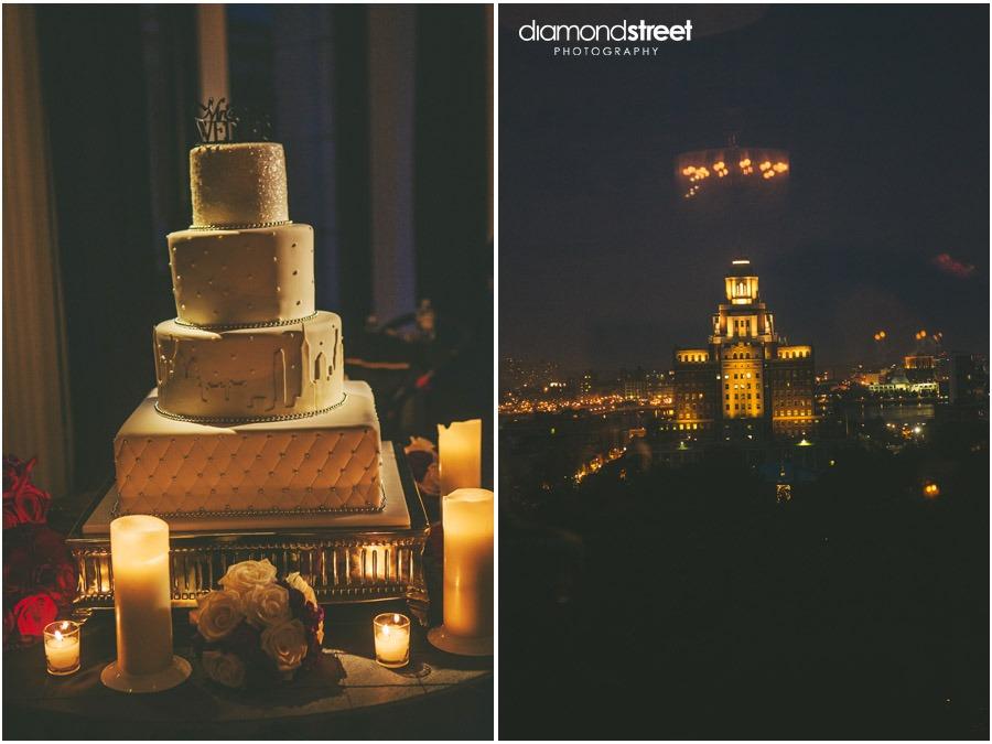 Downtown Club Wedding decor