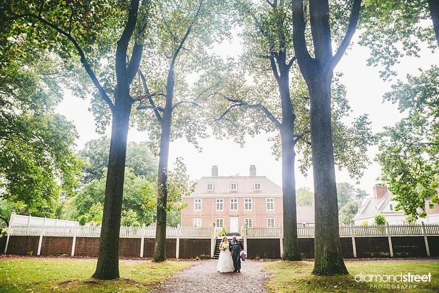 Pennsbury Manor wedding