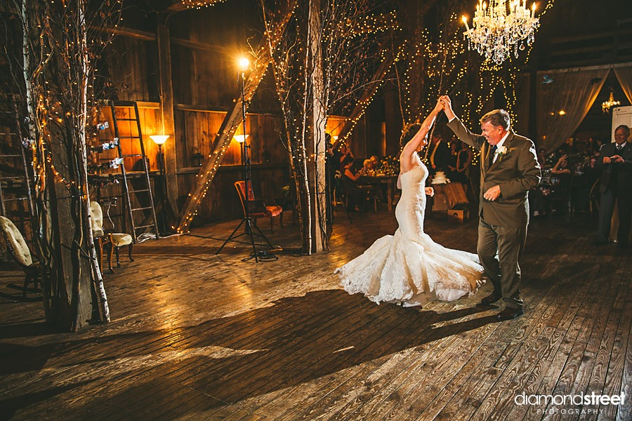 friedman farms wedding father daughter dance