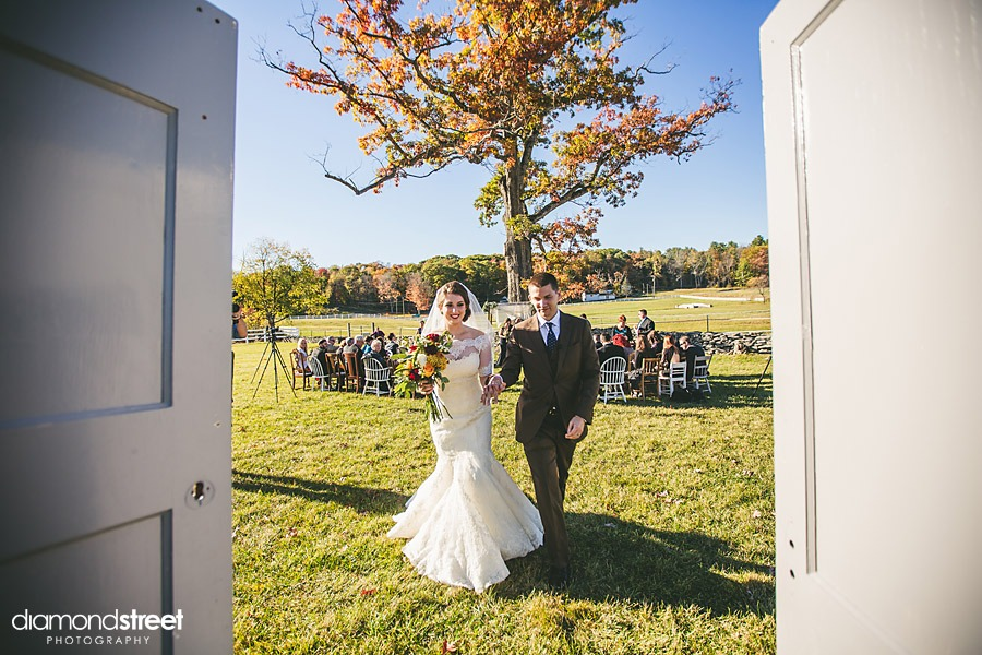 friedman farms rustic wedding