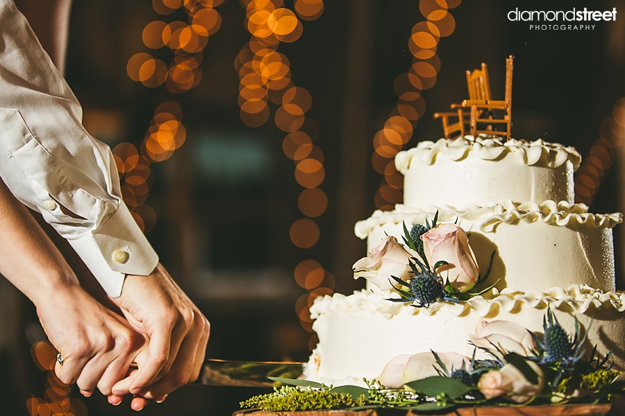 friedman farms wedding cake