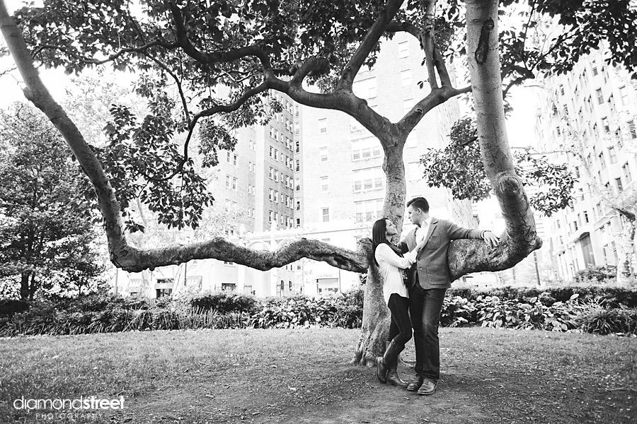 Rittenhouse Square Park Engagement