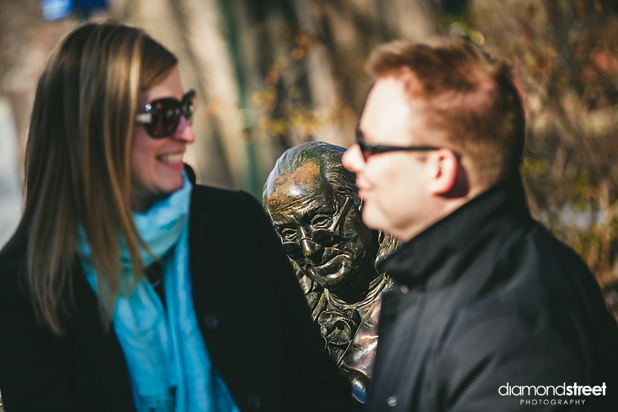 U of Penn Engagement photos