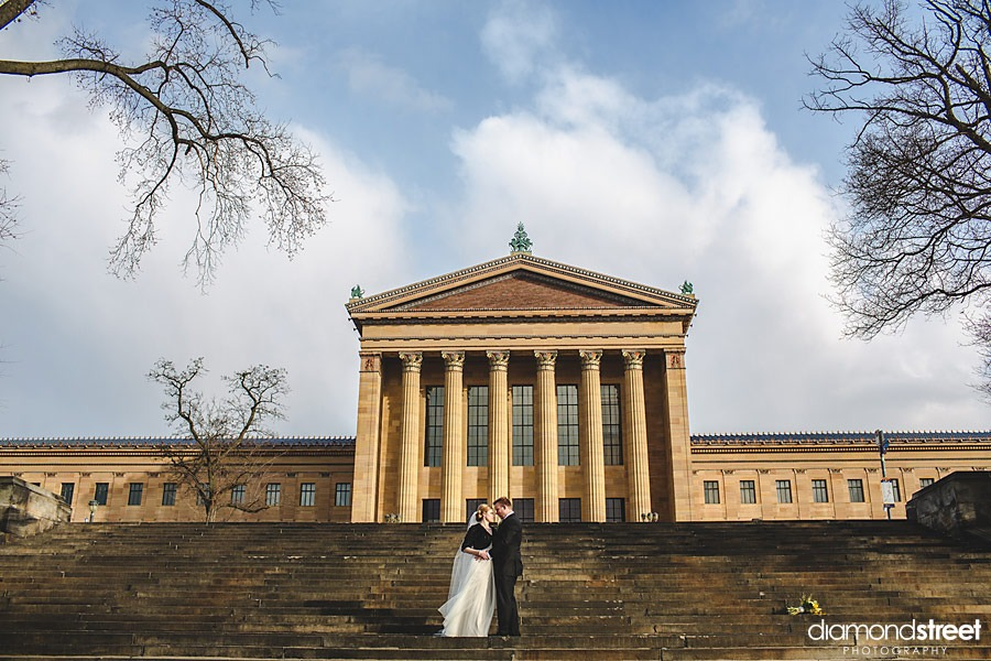 Art Museum wedding photos