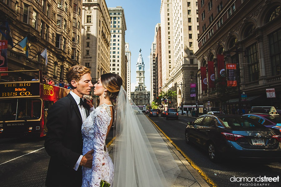 Broad Street Wedding photograph