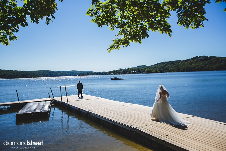 Lake Mohawk Country Club Wedding photos