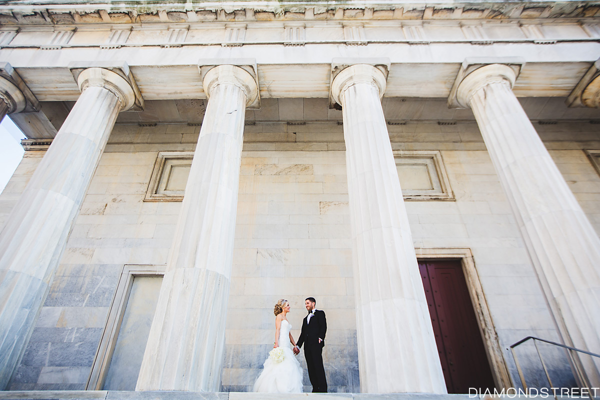 first bank wedding photos