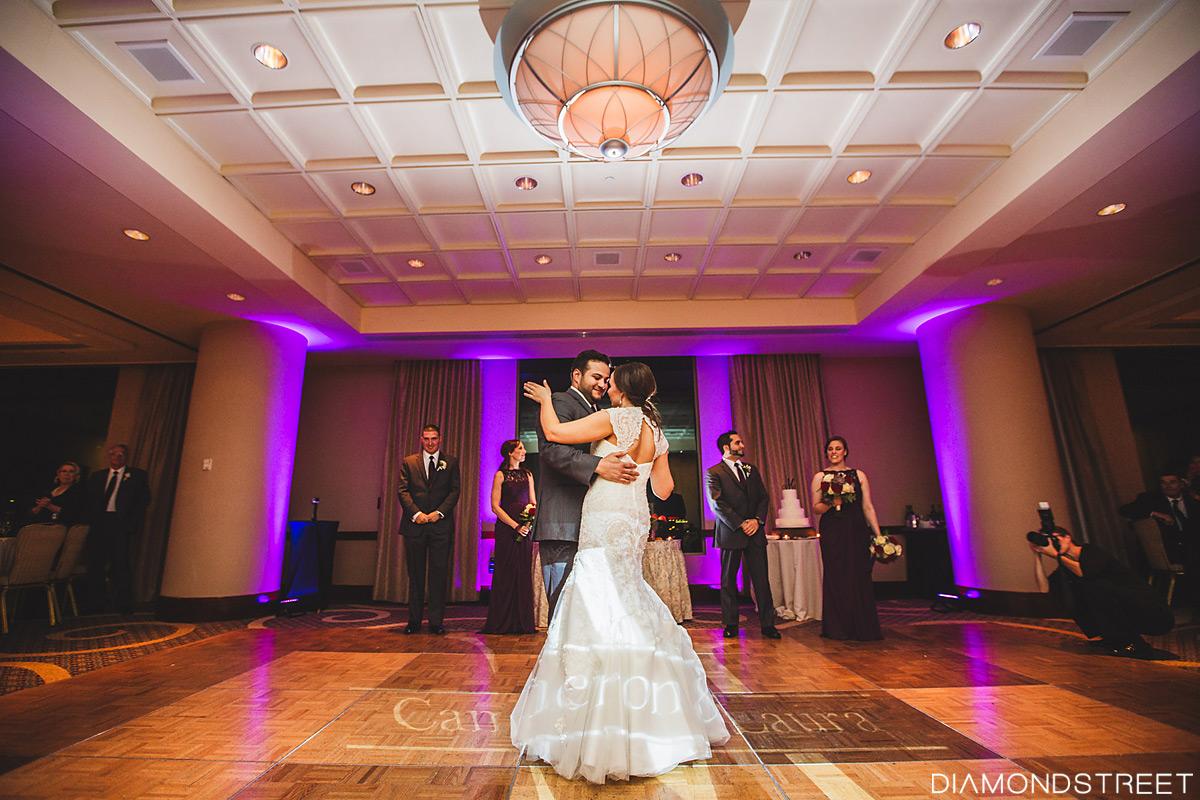 Penns Landing Hilton wedding photos