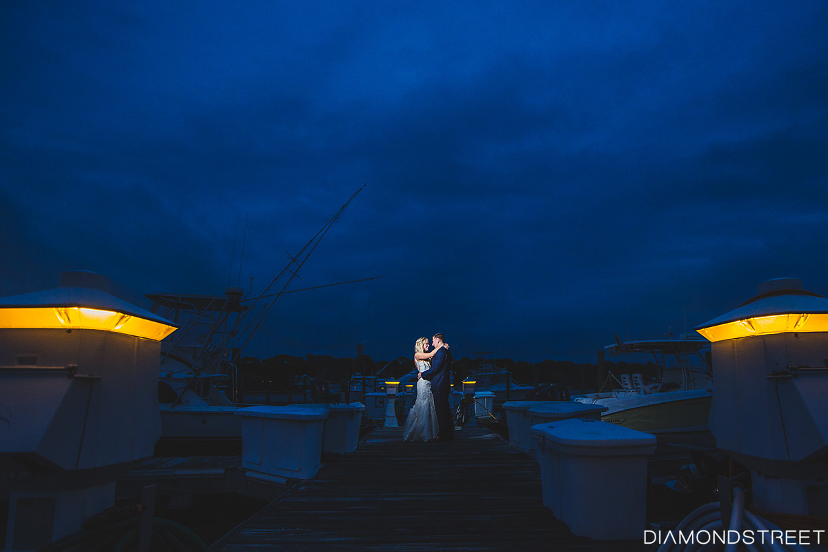Crystal Point Yacht Club wedding photos