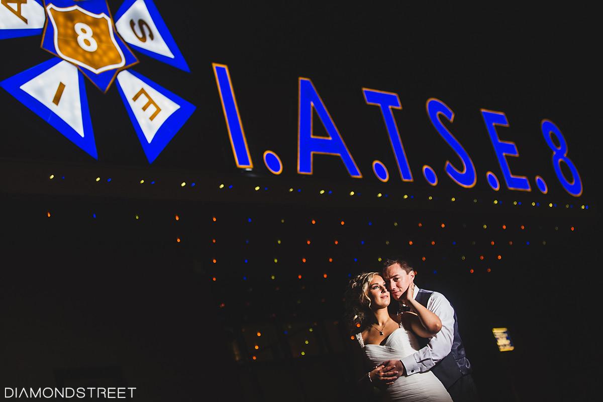 IATSE Ballroom Wedding Photos