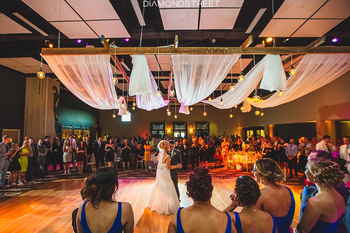 IATSE Ballroom Wedding first dance photo