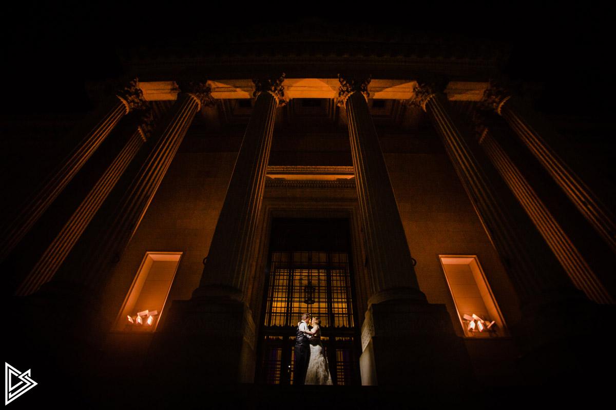 Franklin Institute Wedding Pictures D & C
