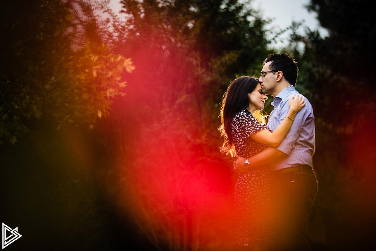 Sayen Gardens Engagement photos