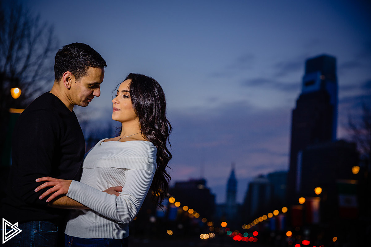 Philadelphia City Engagement photos