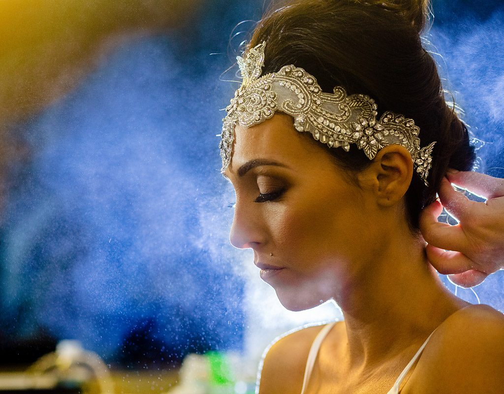 Tendenza bride getting ready photos