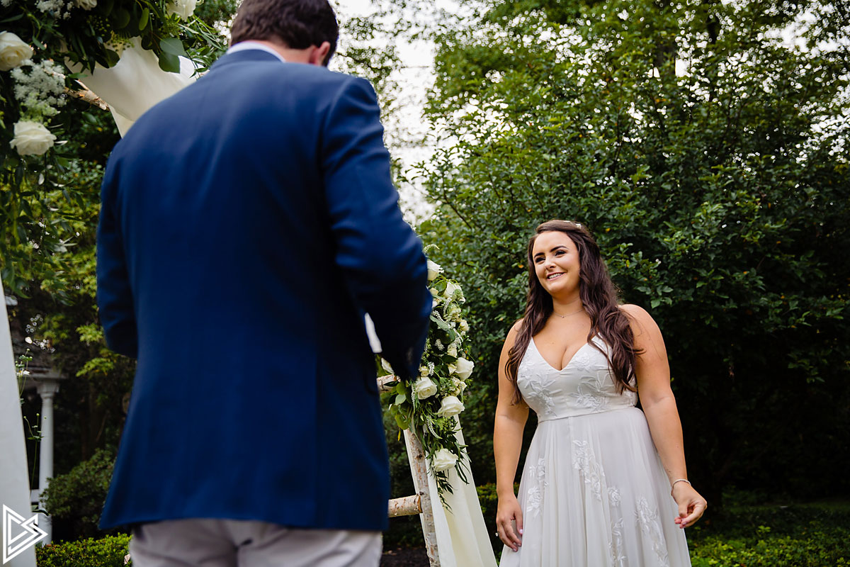 Philadelphia Backyard Wedding photos
